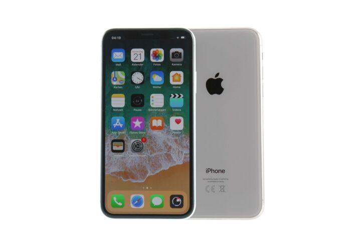 Iphone x silber spacegrau
