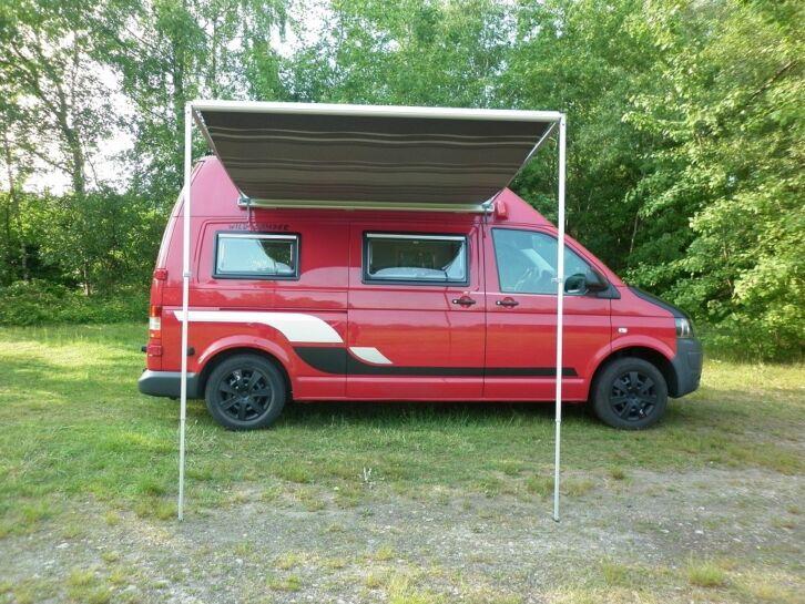 super vw t5 wohnmobil camper mit 140ps und top ausstattung. Black Bedroom Furniture Sets. Home Design Ideas