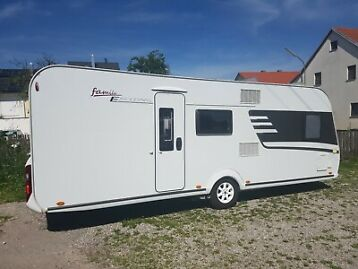 Wohnwagen eriba Family exciting 560 incl Mover, FBH, ESP, Autark ERIBA
